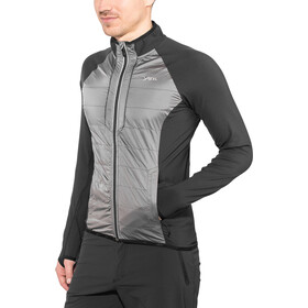 Y by Nordisk Mallow Veste coupe-vent Homme, black/gull grey